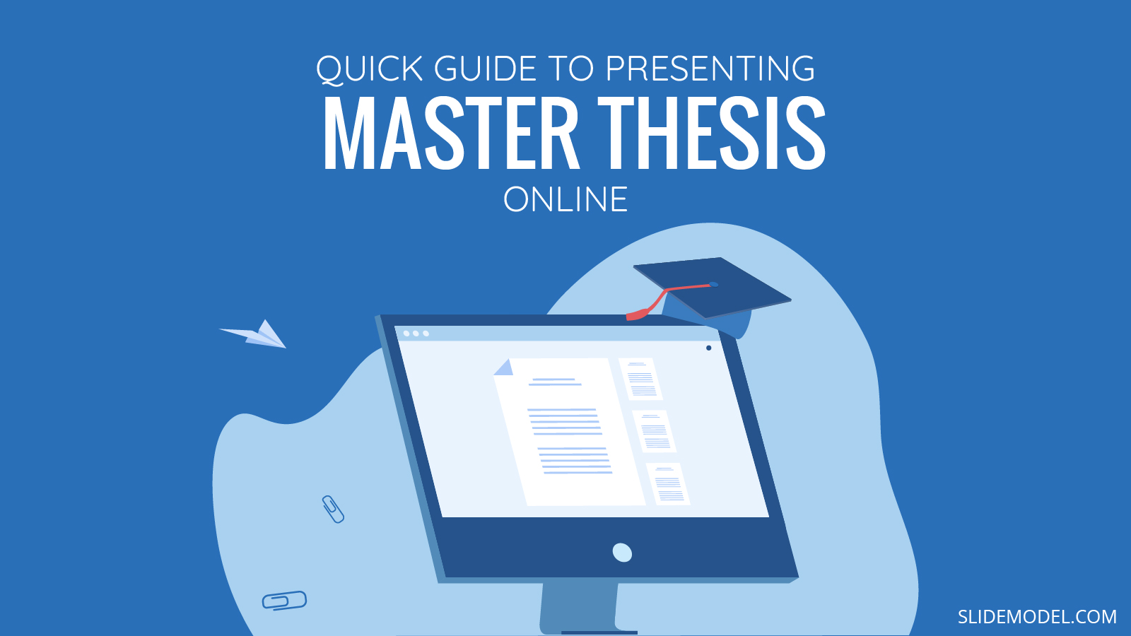 Master Thesis Online PPT Template