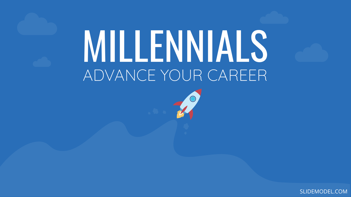 Ways to Advance Your Career if You're a Millennial PPT Template