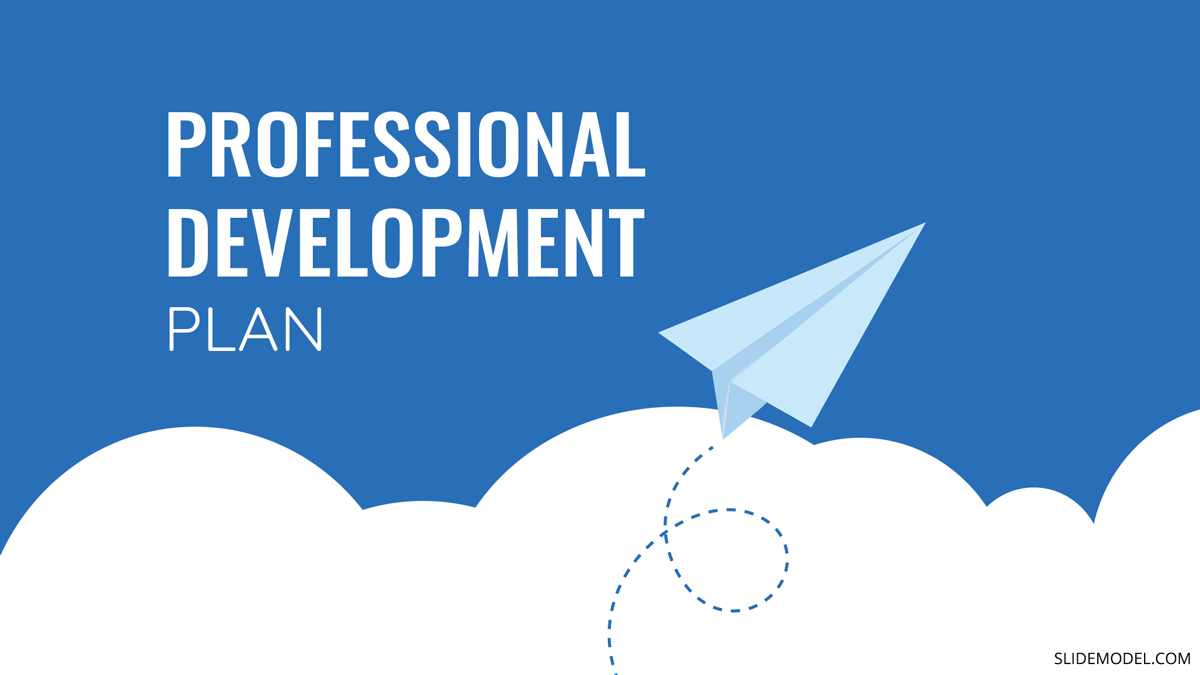 How to Create and Present a Professional Development Plan PPT Template