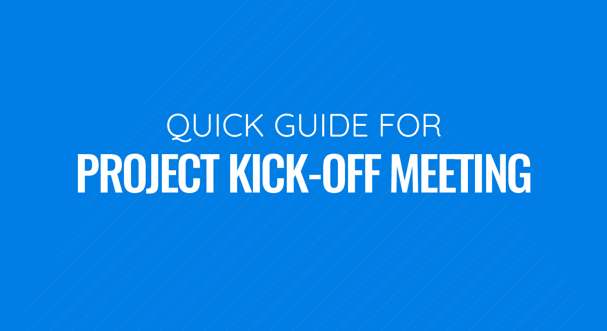Quick Guide to Project Kick Off Meetings PPT Template