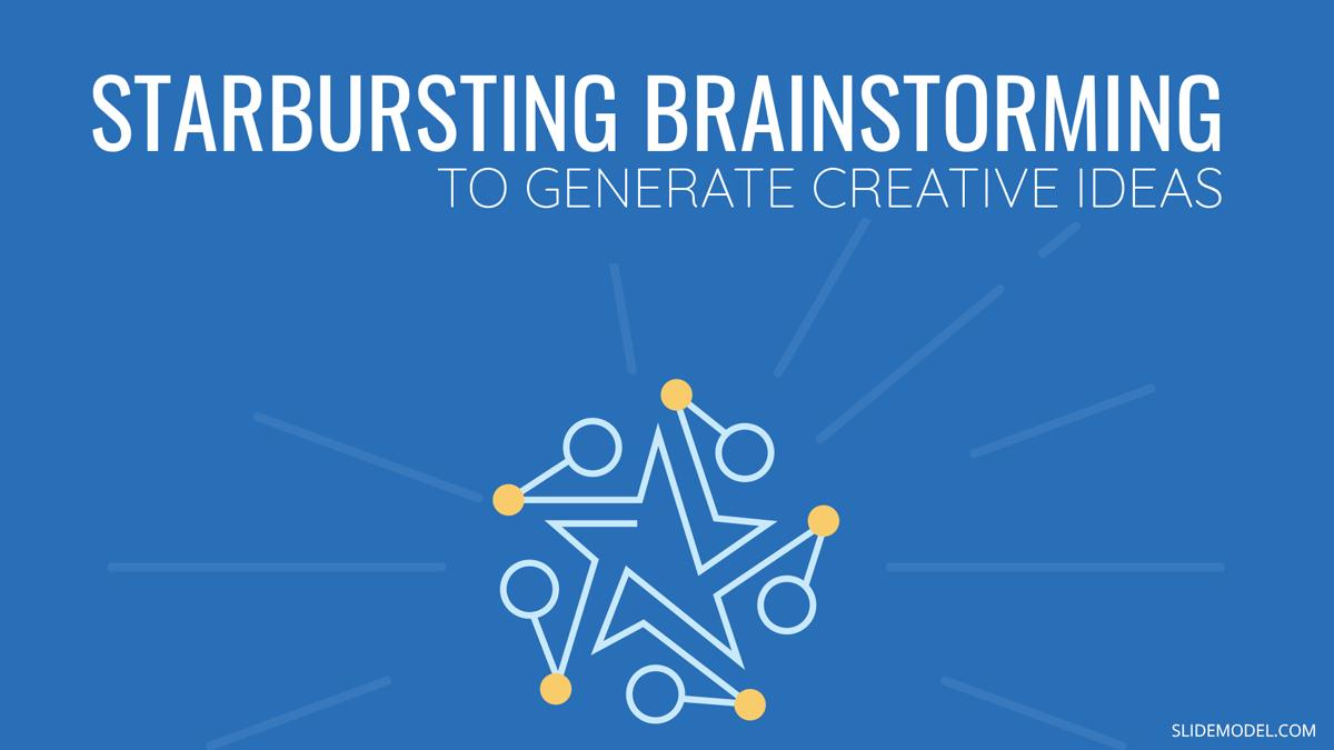 How Starbursting Brainstorming can Help Generate Creative Ideas PowerPoint Template