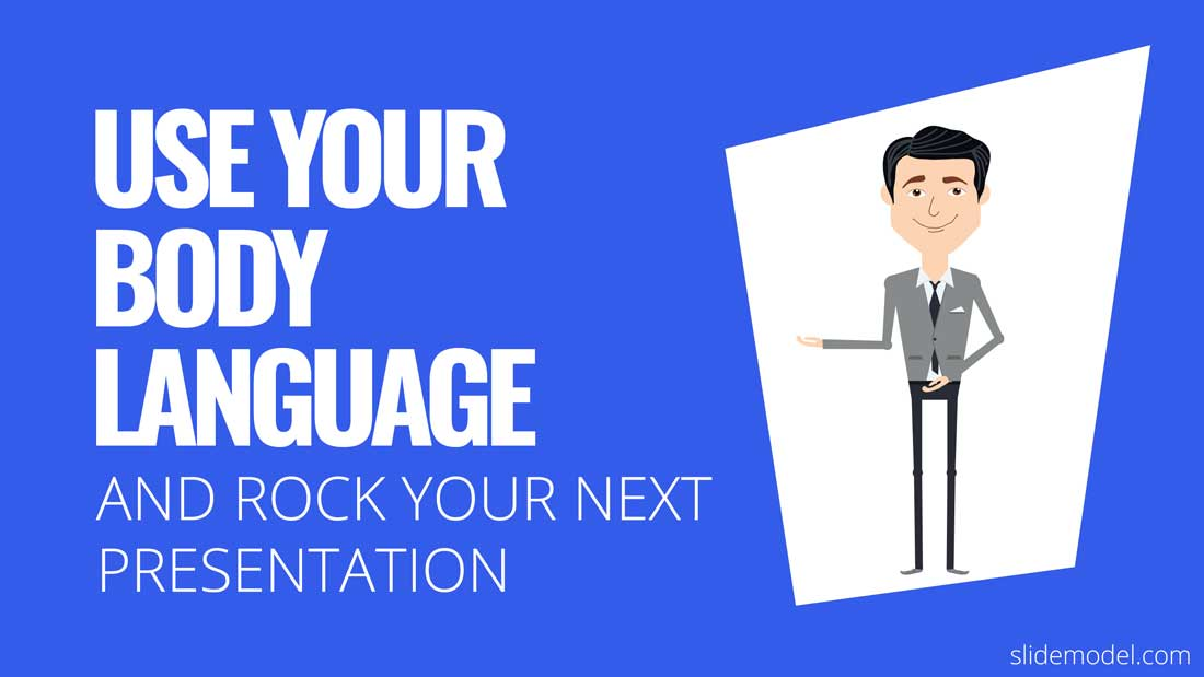 PPT Template Rock Presentation Body Language