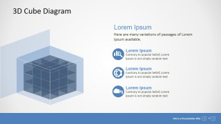 PowerPoint 3D Building Block Diagram