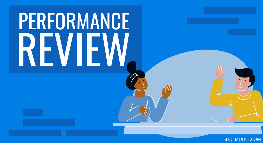 Performance Review Cover Slide PowerPoint Templates