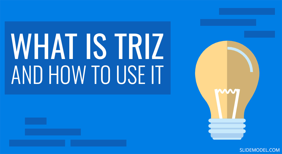 What is Triz and How to Use it in Problem Solving PPT Template