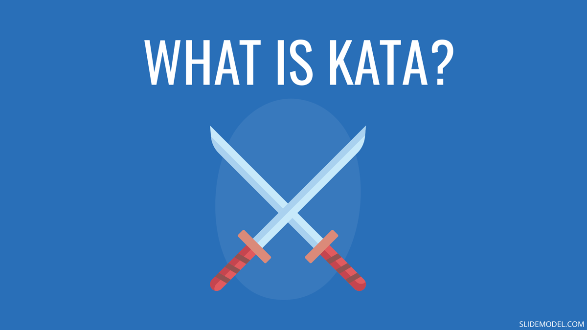 Using Kata for Lean Management and Presentation Skills PPT Template