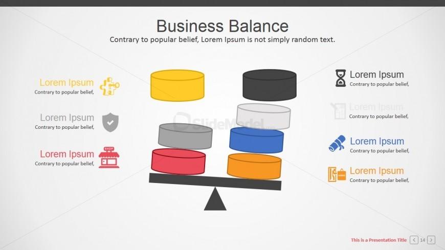 Cylinders and Scale Balance Metaphor