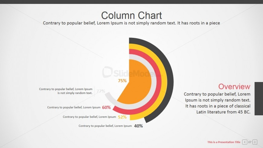 Corporate PPT Templates with Charts and Infographics
