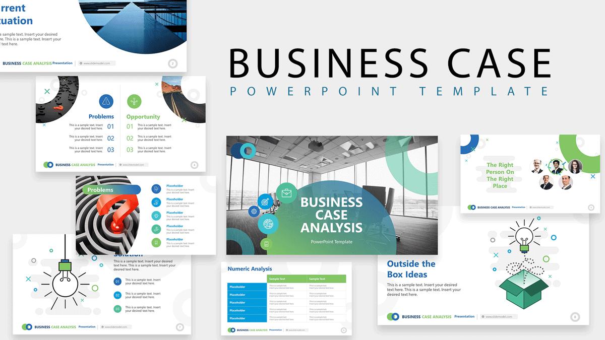 Business Case Presentation PowerPoint Template