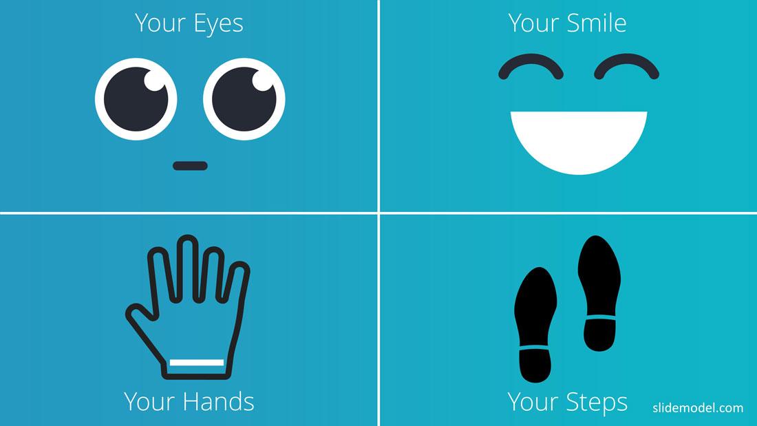 PPT Templates Body Language