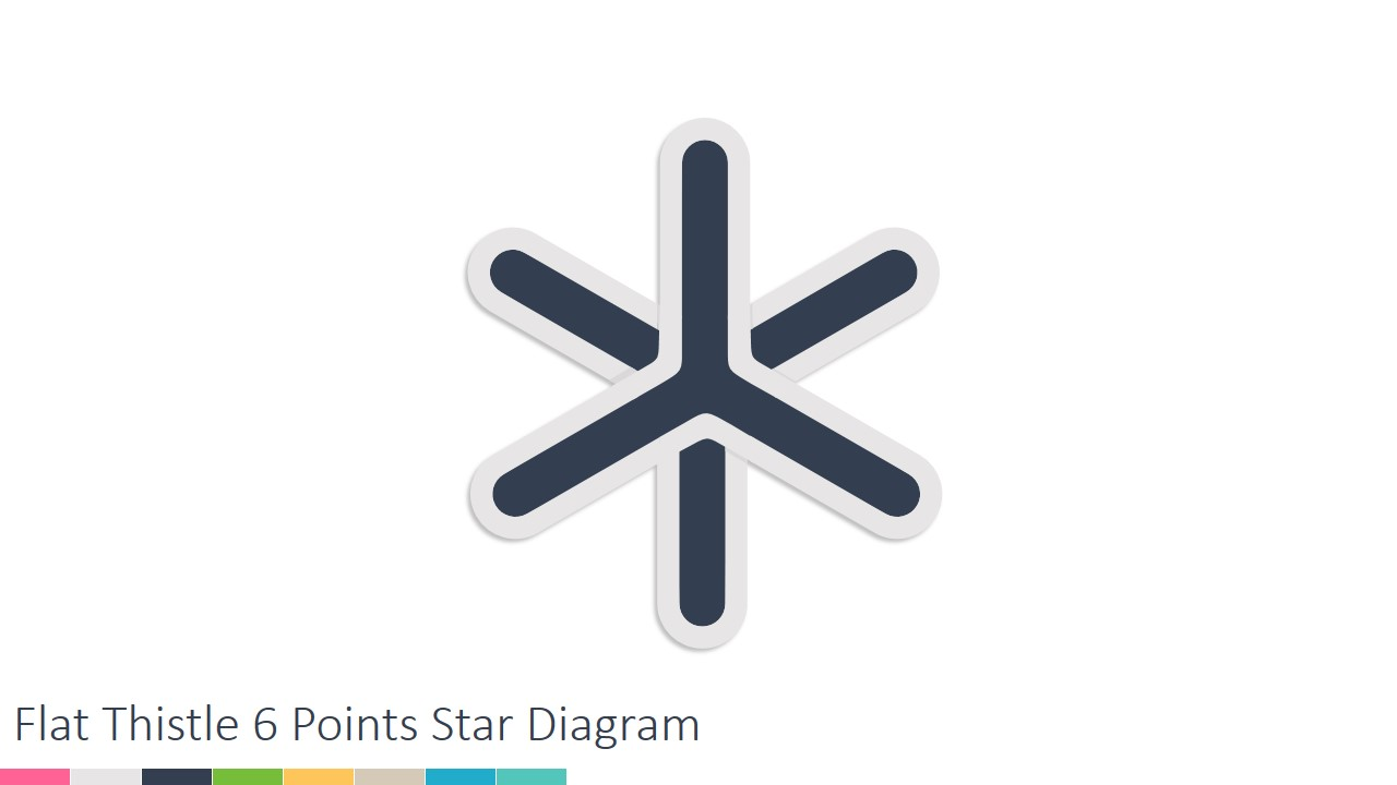 Star Diagram Template for PowerPoint
