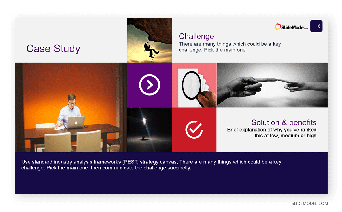 Business Case Study Example PPT Template