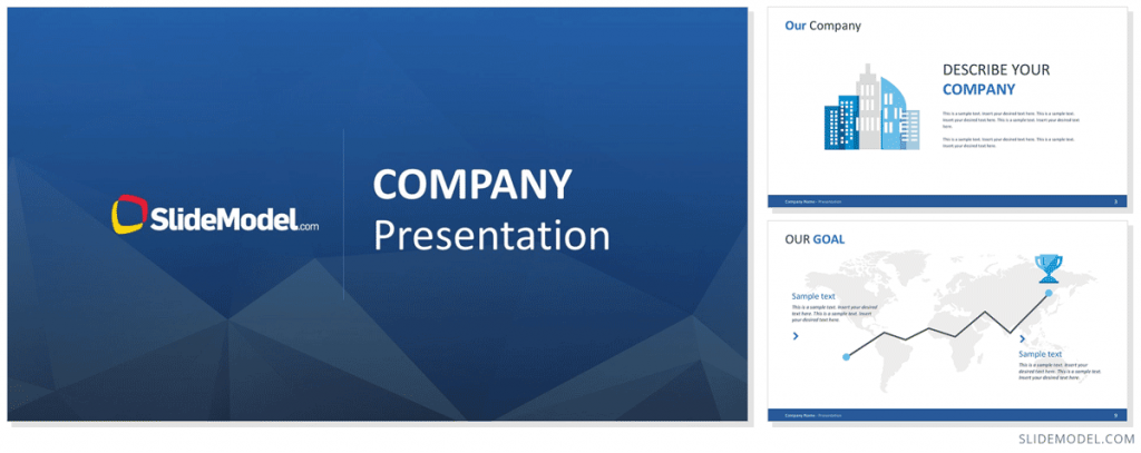 Company Presentation PowerPoint Themes