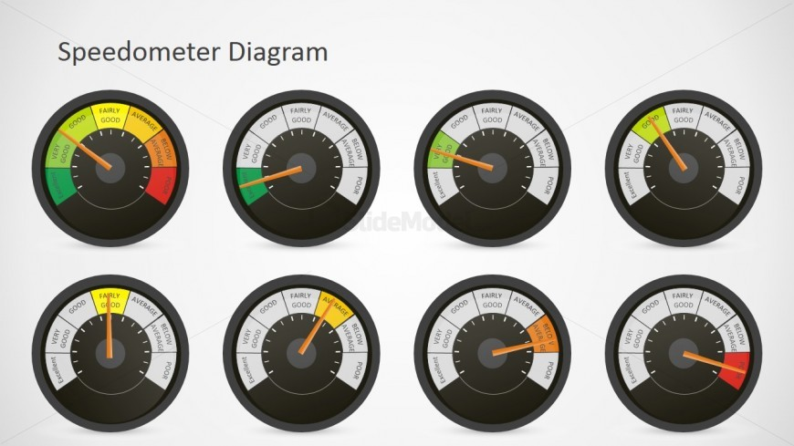Professional Dashboards PowerPoint Shapes