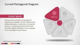 PowerPoint 5 Steps Diagram Clip Art