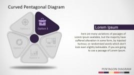 PowerPoint Pentagon 3D Shapes