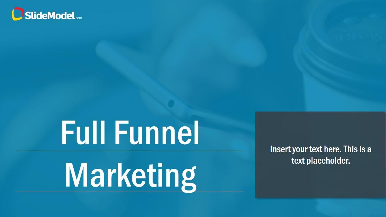 full funnel marketing powerpoint template