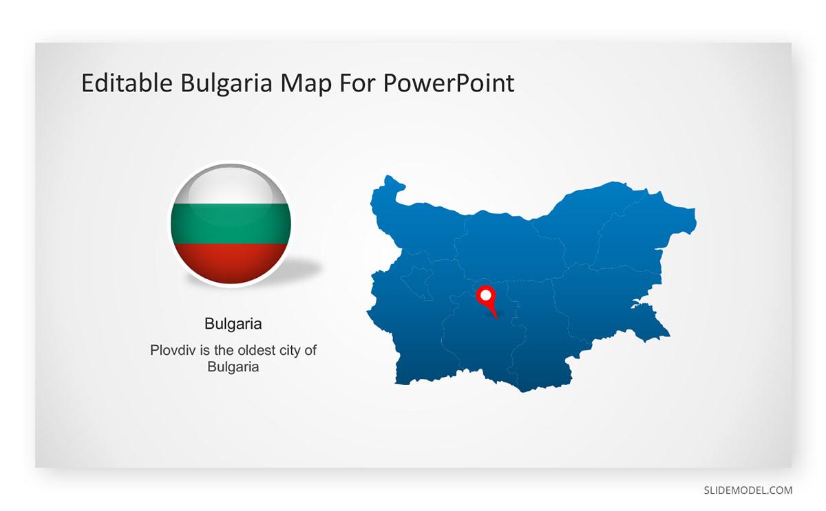 Editable Bulgaria PowerPoint Template