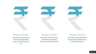 Currency Rupee Symbol PPT Templates