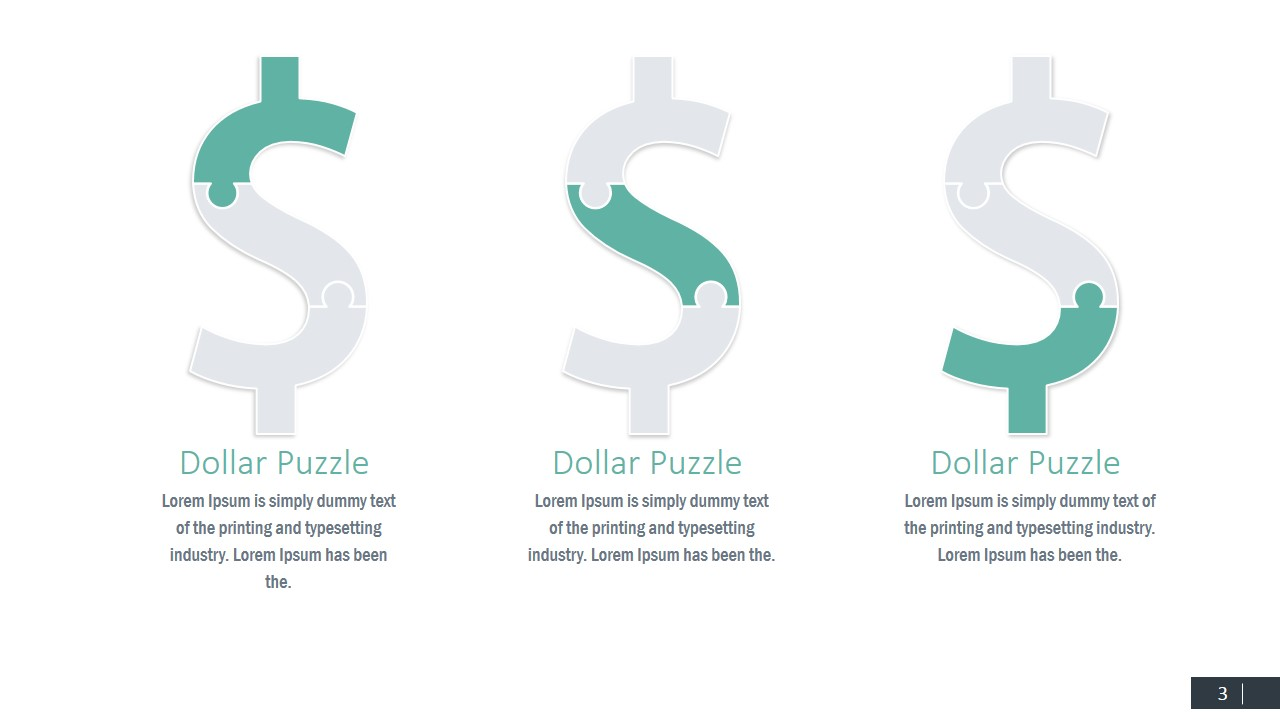 Currency symbols puzzle shapes for powerpoint slidemodel powerpoint jigsaw currency shapes ppt template dollar symbol puzzle puzzle clipart of money ppt design biocorpaavc Image collections