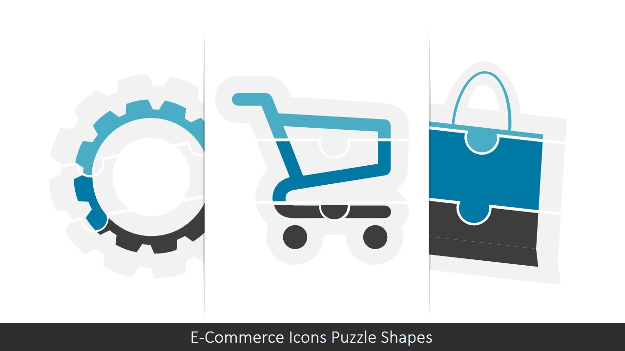 Professional PowerPoint Templates Icons Puzzle