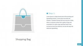 PPT Shapes of Shopping Bag Puzzle Segments