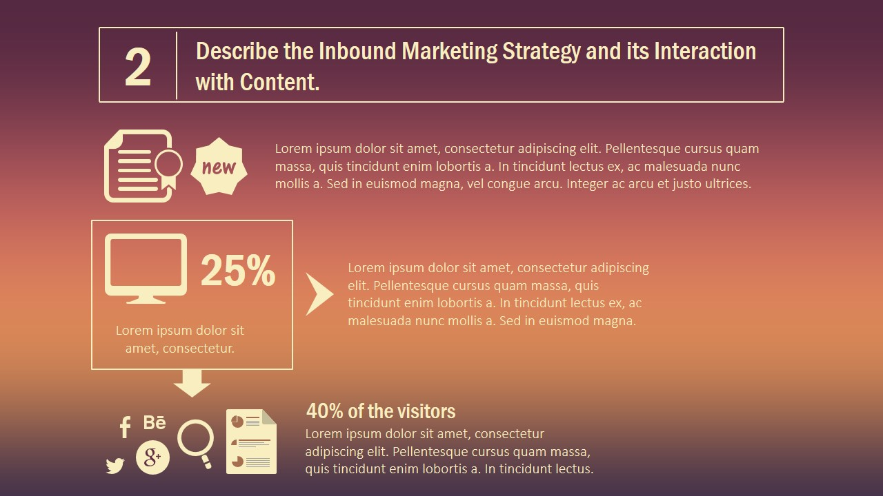 Inbound Marketing Powerpoint Template