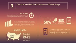 PPT Template Inbound Marketing Traffic Sources