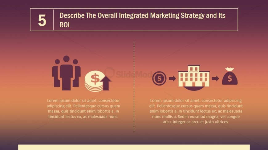 PPT Template Integrated Marketing Strategy