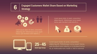 PPT Template Wallet Share Inbund Marketing