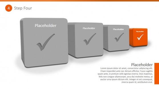 3D Checklist PowerPoint Diagram