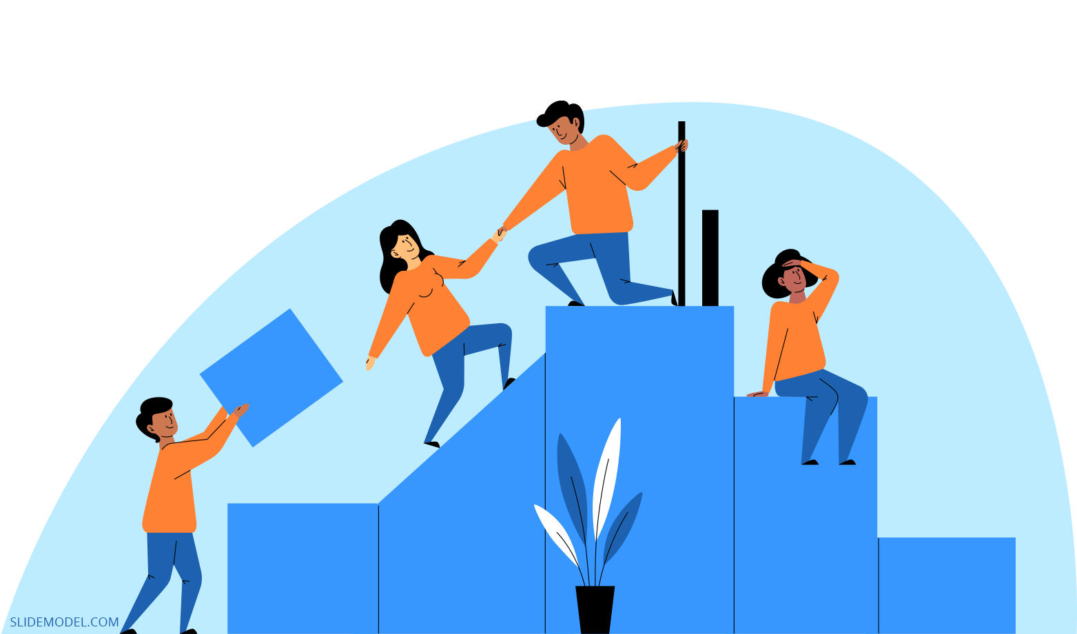 Teamwork Skills Template Slides