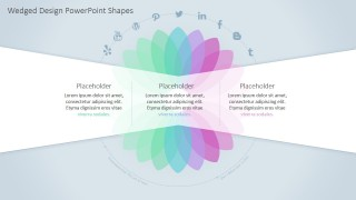 Professional PowerPoint Presentation Petals Diagram