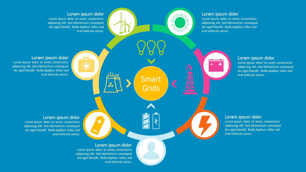 Smart Grid PowerPoint Template