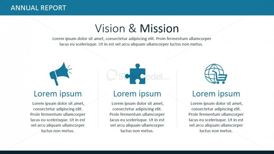 Professional powerpoint templates for vision and mission slidemodel mission and vision powerpoint template toneelgroepblik Choice Image