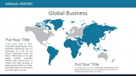 Editable PowerPoint Worldmap Global Market