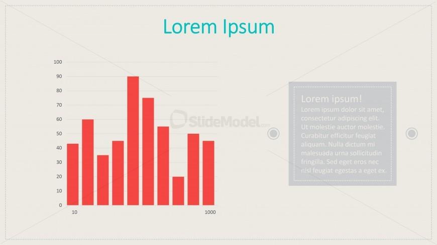 Data Driven Column Chart Vintage
