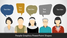People Silhouettes for PowerPoint Presentations