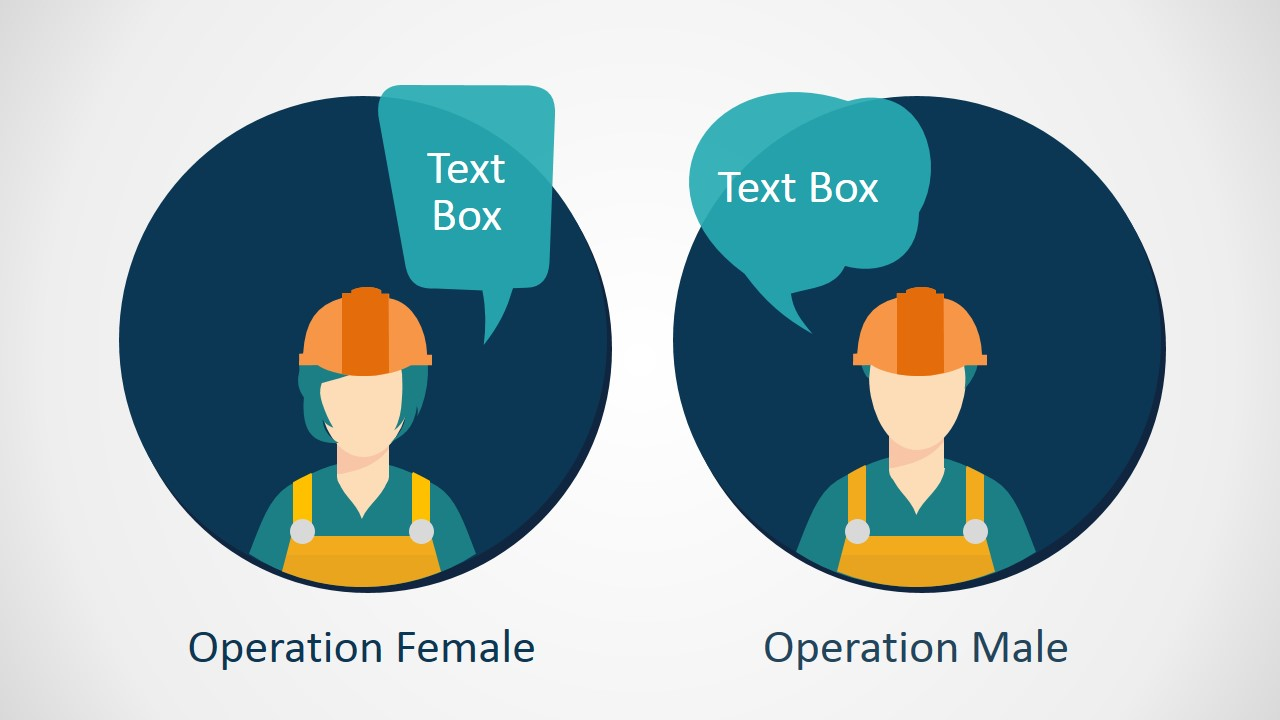 PPT Theme Workers Clipart