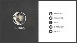 Digital Resume For PowerPoint
