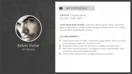 Up To Date Digital Resume For PowerPoint