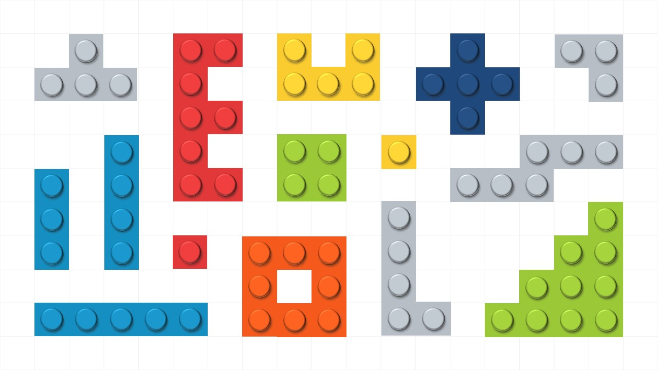 PPT Shapes Lego Theme for PowerPoint