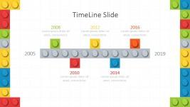 Lego Theme PowerPoint Timeline