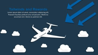 Business Headwinds And Tailwinds PowerPoint Template