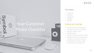 Social Media Checklist PowerPoint Cover