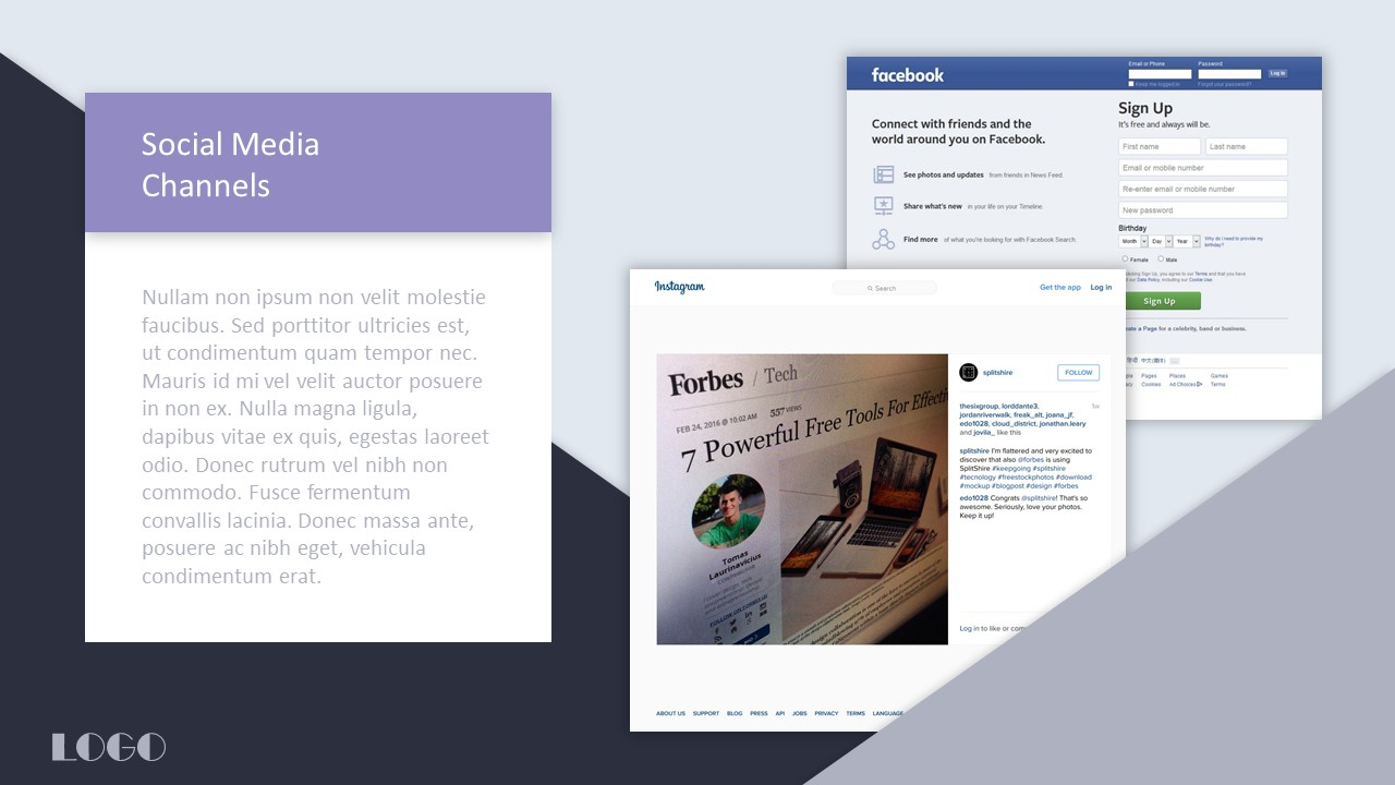 PowerPoint Templates For Social Media Optimization