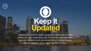 12 tips list powerpoint templates slidemodel
