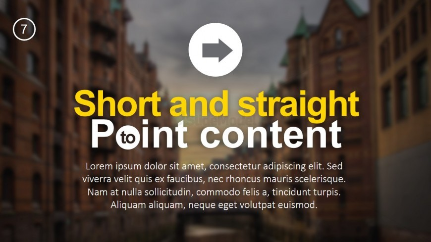 PPT Templates Slide Designs for Lists