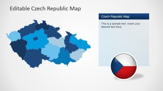 PPT Map States Outline Czech Republic