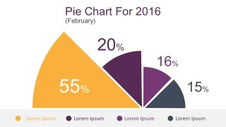 Colorful Pie Chart Infographic PowerPoint Templates